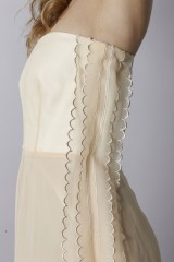 Drexcode - Ivory bustier dress - Rochas - Rent - 7