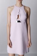 Drexcode - Crepe dress with metal belt - Giambattista Valli - Sale - 4