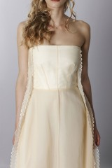 Drexcode - Ivory bustier dress - Rochas - Rent - 6