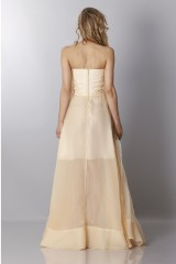Drexcode - Ivory bustier dress - Rochas - Rent - 2