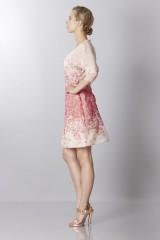 Drexcode - Silk organza dress with floral printing - Blumarine - Rent - 6