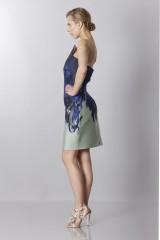 Drexcode - Asymmetrical bustier with floreal printing - Antonio Berardi - Sale - 4