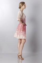 Drexcode - Silk organza dress with floral printing - Blumarine - Rent - 5