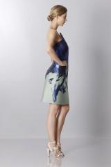 Drexcode - Asymmetrical bustier with floreal printing - Antonio Berardi - Sale - 5