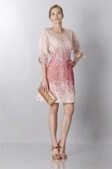 Drexcode - Silk organza dress with floral printing - Blumarine - Rent - 4