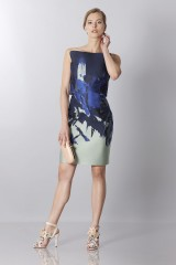 Drexcode - Asymmetrical bustier with floreal printing - Antonio Berardi - Sale - 3