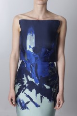 Drexcode - Asymmetrical bustier with floreal printing - Antonio Berardi - Sale - 7