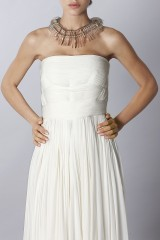 Drexcode - White dress - Vionnet - Rent - 5