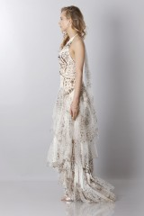 Drexcode - Animalier silk dress  - Blumarine - Rent - 5