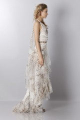 Drexcode - Animalier silk dress - Blumarine - Sale - 6