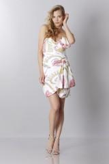 Drexcode - Silk printed bustier dress - Moschino - Sale - 1