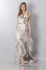 Drexcode - Animalier silk dress - Blumarine - Sale - 1