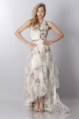 Drexcode - Animalier silk dress - Blumarine - Sale - 4