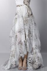 Drexcode - Animalier silk dress - Blumarine - Sale - 9