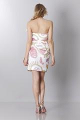 Drexcode - Silk printed bustier dress - Moschino - Rent - 5