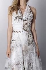 Drexcode - Animalier silk dress - Blumarine - Sale - 8