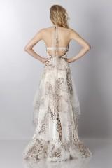 Drexcode - Animalier silk dress - Blumarine - Sale - 7