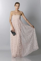 Drexcode - Embroidered bustier dress - Vera Wang - Rent - 3