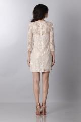 Drexcode - Short dress with decorations - Blumarine - Sale - 2