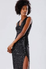 Drexcode - Sequined dress with square neckline - Paule Ka - Rent - 5