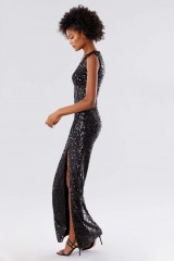 Drexcode - Sequined dress with square neckline - Paule Ka - Rent - 6