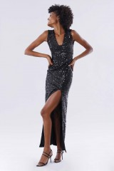 Drexcode - Sequined dress with square neckline - Paule Ka - Rent - 1