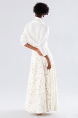 Drexcode - White suit with paisley skirt and sweater - Paule Ka - Sale - 3