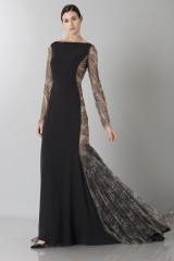 Drexcode - Long dress with side transparencies - Ports 1961 - Rent - 1