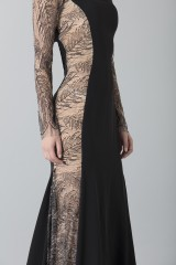 Drexcode - Long dress with side transparencies - Ports 1961 - Rent - 5