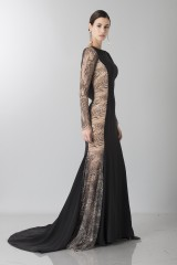 Drexcode - Long dress with side transparencies - Ports 1961 - Rent - 3