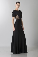 Drexcode - Short sleeve dress with side lace - Ports 1961 - Sale - 1