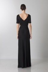 Drexcode - Short sleeve dress with side lace - Ports 1961 - Rent - 2