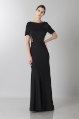 Drexcode - Short sleeve dress with side lace - Ports 1961 - Sale - 3