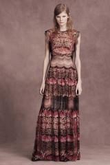 Drexcode - Silk and lace chiffon dress - Alberta Ferretti - Rent - 3