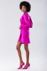 Drexcode - Short fuchsia dress - Rhea Costa - Rent - 6