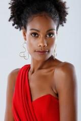 Drexcode - Red one-shoulder mermaid dress - Rhea Costa - Rent - 7