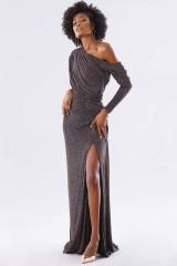Drexcode - Long glitter dress  - Rhea Costa - Rent - 1