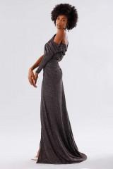 Drexcode - Long dress with glitter - Rhea Costa - Sale - 3