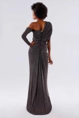 Drexcode - Long dress with glitter - Rhea Costa - Sale - 5