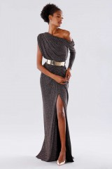 Drexcode - Long glitter dress  - Rhea Costa - Rent - 4