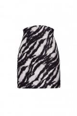 Drexcode - Completo camicia e minigonna stampa zebra - Redemption - Rent - 7