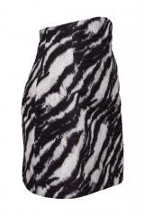 Drexcode - Completo camicia e minigonna stampa zebra - Redemption - Rent - 6
