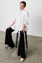 Drexcode - Camicia in cotone con rouches - Redemption - Sale - 6