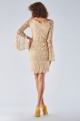 Drexcode - Lace sheath dress with bell sleeves - Forever unique - Rent - 5