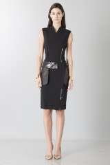 Drexcode - Sheath with leather details - Jean Paul Gaultier - Sale - 1