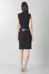 Drexcode - Sheath with leather details - Jean Paul Gaultier - Sale - 3