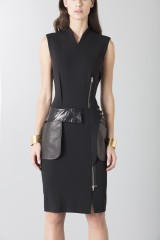 Drexcode - Sheath with leather details - Jean Paul Gaultier - Sale - 4