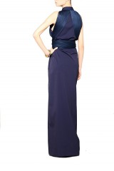 Drexcode - Shirtdress with draped silk tulle - Vionnet - Sale - 3
