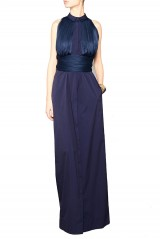Drexcode - Shirtdress with draped silk tulle - Vionnet - Sale - 2