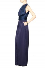 Drexcode - Shirtdress with draped silk tulle - Vionnet - Sale - 4